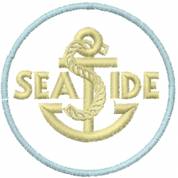 Anchor Sign embroidery design