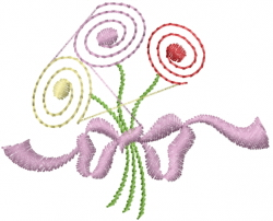 Flower Bundle embroidery design