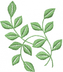 Growing Vines embroidery design