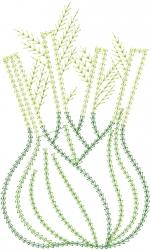 Onion Applique embroidery design