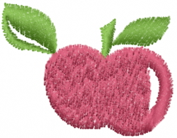 Plum Fruit embroidery design