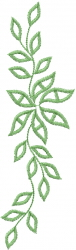 Ivy Leaf Vine embroidery design
