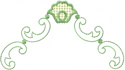 Heirloom Scrolls embroidery design