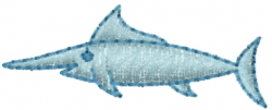 Cartoon Shark embroidery design