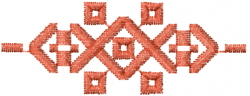 Southwest Weave embroidery design