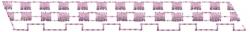 Checkered Border embroidery design