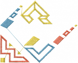 Southwest Pueblo Design embroidery design