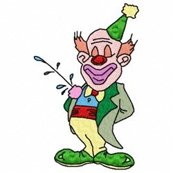 Proud Clown embroidery design