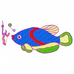 Fish Bait embroidery design