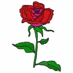 Rose Stem embroidery design