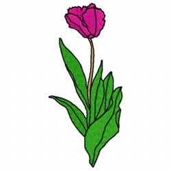 Tulip Fantasy embroidery design