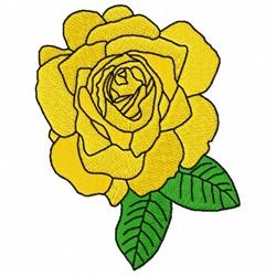 Tea Rose embroidery design