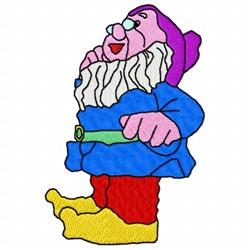 Wise Gnome embroidery design