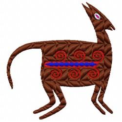 Desert Deer embroidery design