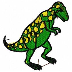 T-Rex Dinosaur embroidery design