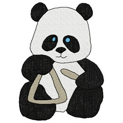 Panda Bear embroidery design