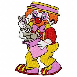 Magic Clown embroidery design