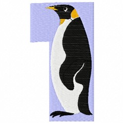 Animal Number 1 embroidery design