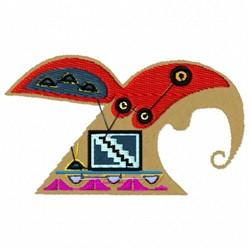 Native American Hopi embroidery design