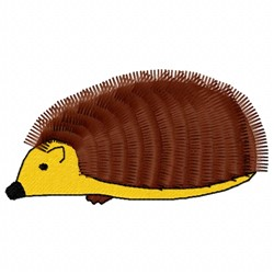Hedgehog Rodent embroidery design