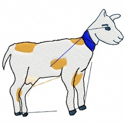 Baby Calf embroidery design