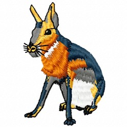 Jack Rabbit embroidery design
