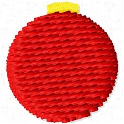 Ornament Ball embroidery design