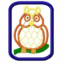 Owl Applique embroidery design