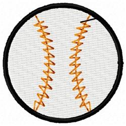 Plain Baseball embroidery design