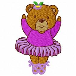 Teddy Bear Dancer embroidery design