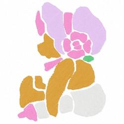 Bear Stencil embroidery design