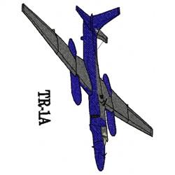 Tr-1A Plane embroidery design
