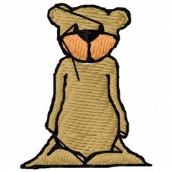 Saggy Bottom Bear embroidery design