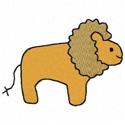 Lion Profile embroidery design