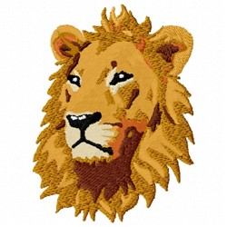 Majestic Lion embroidery design