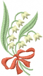 Bell Flowers embroidery design
