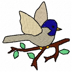 Little Bird embroidery design