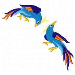 Asian Birds embroidery design