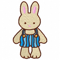 Bunny Boy embroidery design