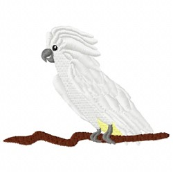 White Bird embroidery design