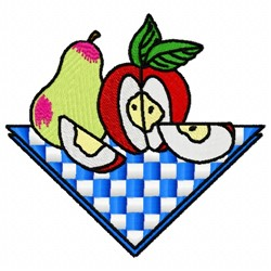 Fruit Picnic embroidery design