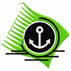 Boat Anchor Logo embroidery design