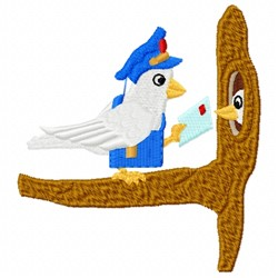 Mailbird Delivery embroidery design