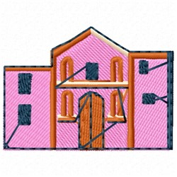 Alamo embroidery design