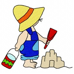 Beach Boy embroidery design