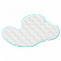 Soft Cloud embroidery design