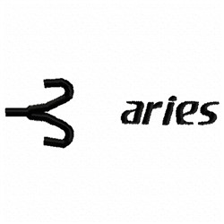 Aries Sign embroidery design