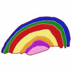Sky Rainbow embroidery design