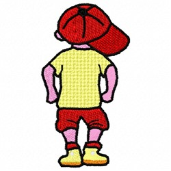 Little Boy embroidery design