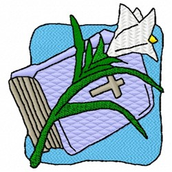 Bible Lily embroidery design